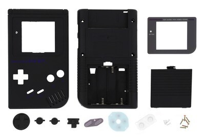 Game Boy Original Shell Kit (Black)
