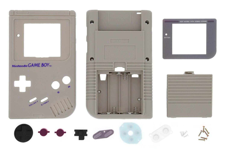 Game Boy Original Shell Kit (Original Grey)