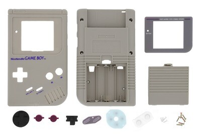 Game Boy Original Shell Kit (Original Grey)