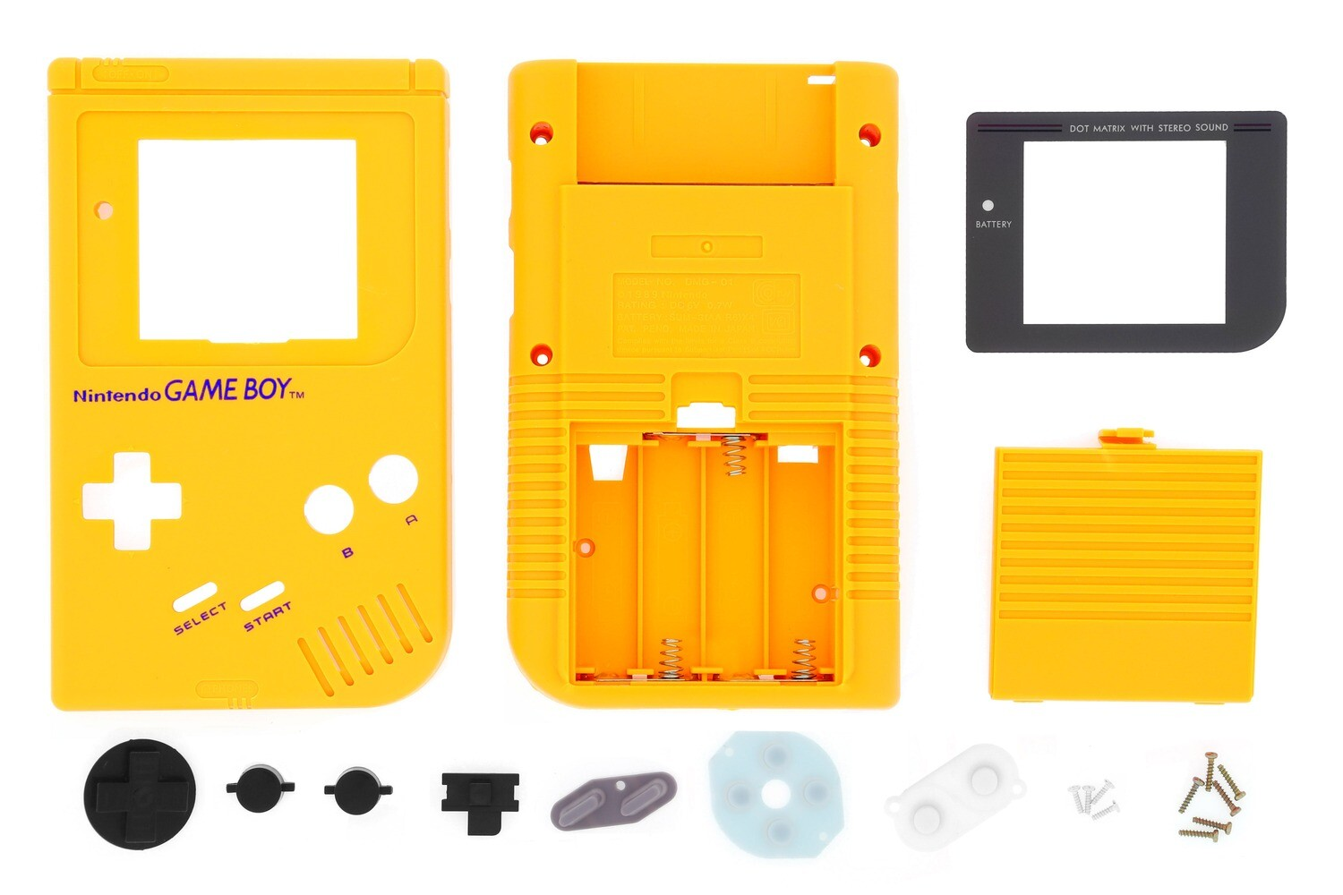 Game Boy Original Shell Kit (Yellow)