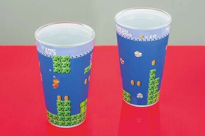 Super Mario Drinks Glass