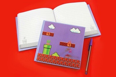 Super Mario Bros 3D Motion Book Hardback