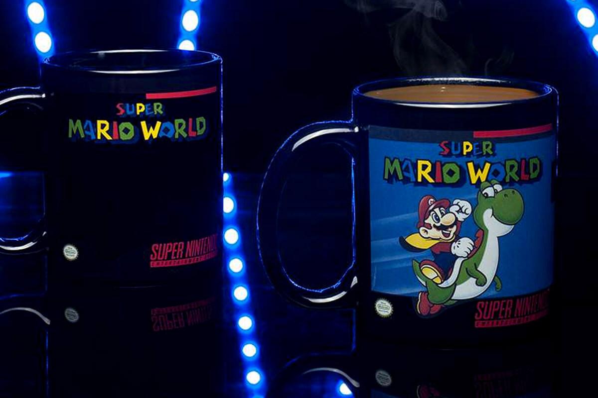 Super Mario World Heat Change Mug