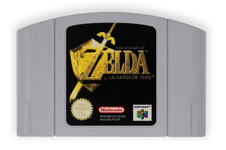The Legend of Zelda: Ocarina of Time (N64 PAL)