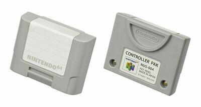Official N64 Controller Memory Pak (NUS-004)