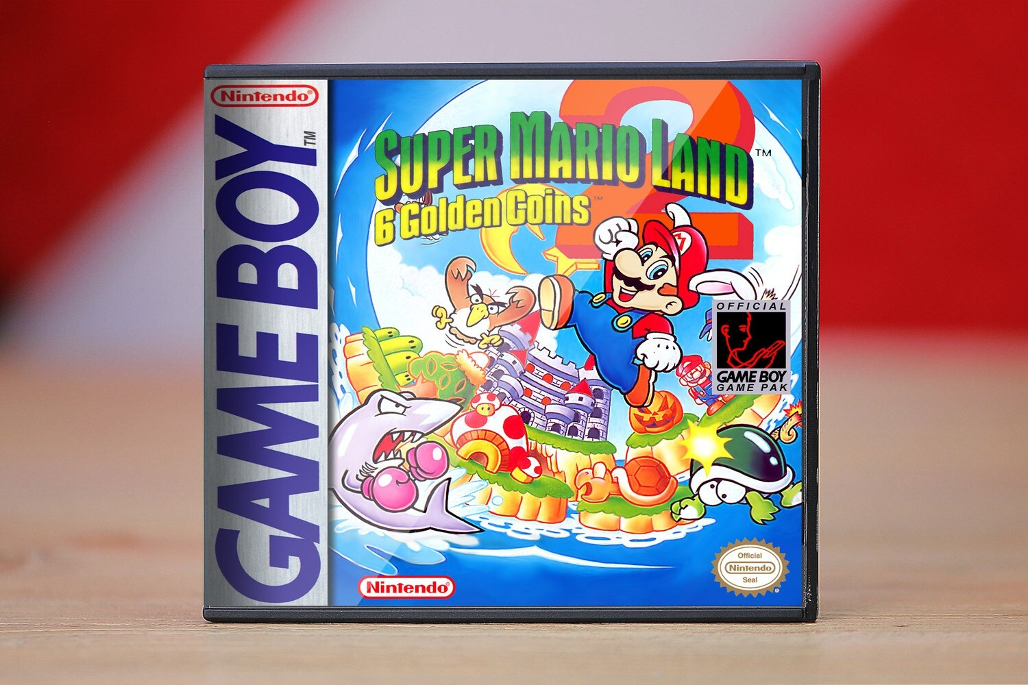 Super Mario Land 2: 6 Golden Coins (Game Boy)