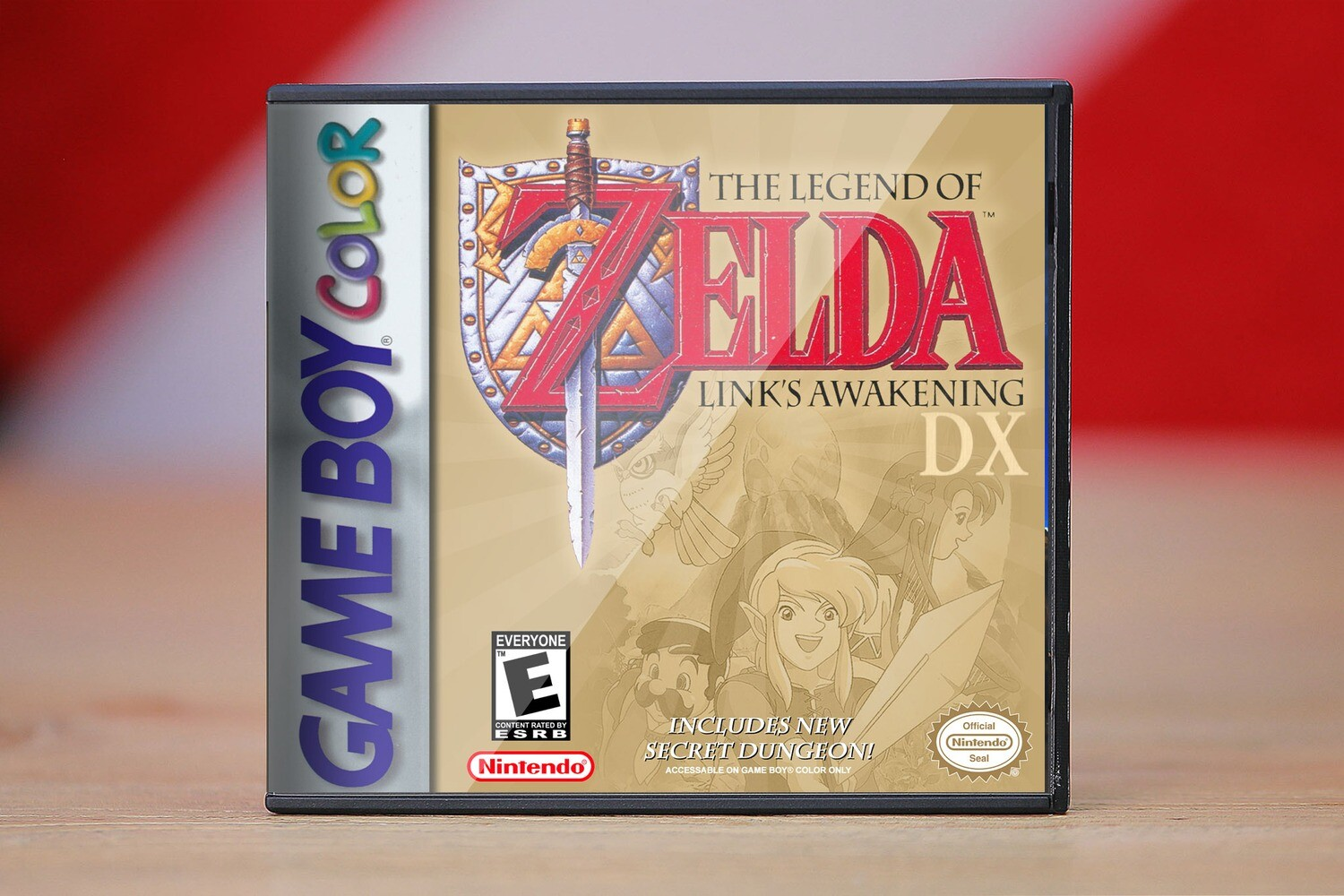 The Legend of Zelda: Links Awakening (Game Boy)