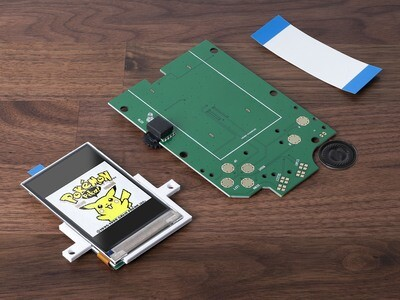 Game Boy Original IPS Color Screen Kit & Speaker