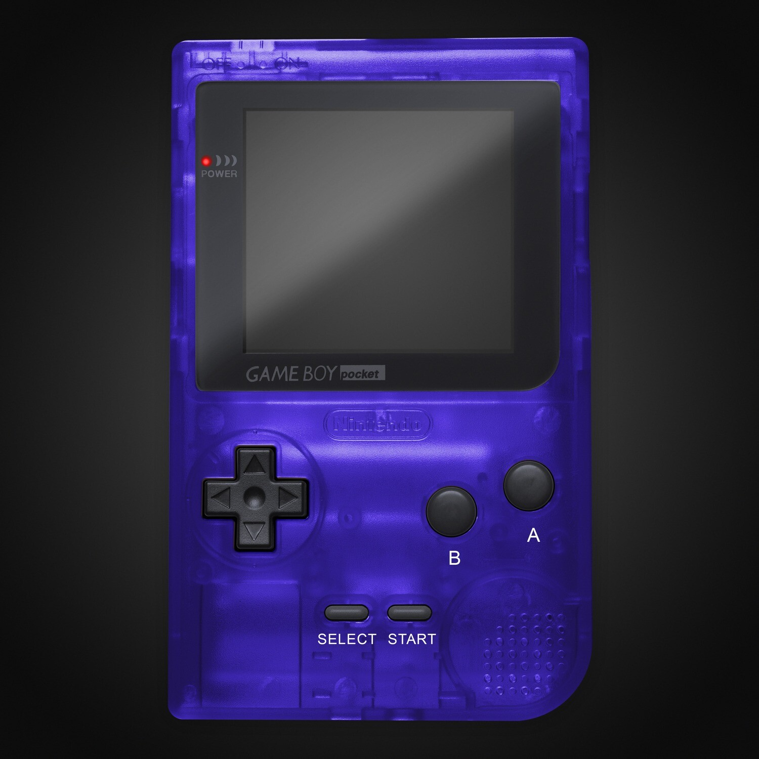 Game Boy Pocket Shell Kit (Clear Royal Blue)