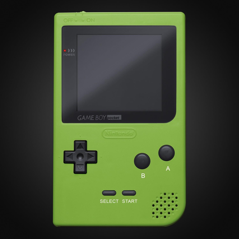Game Boy Pocket Shell Kit (Lime Green)