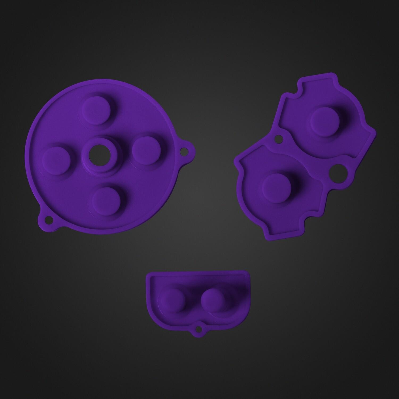 Game Boy Advance Rubber Pads (Purple)