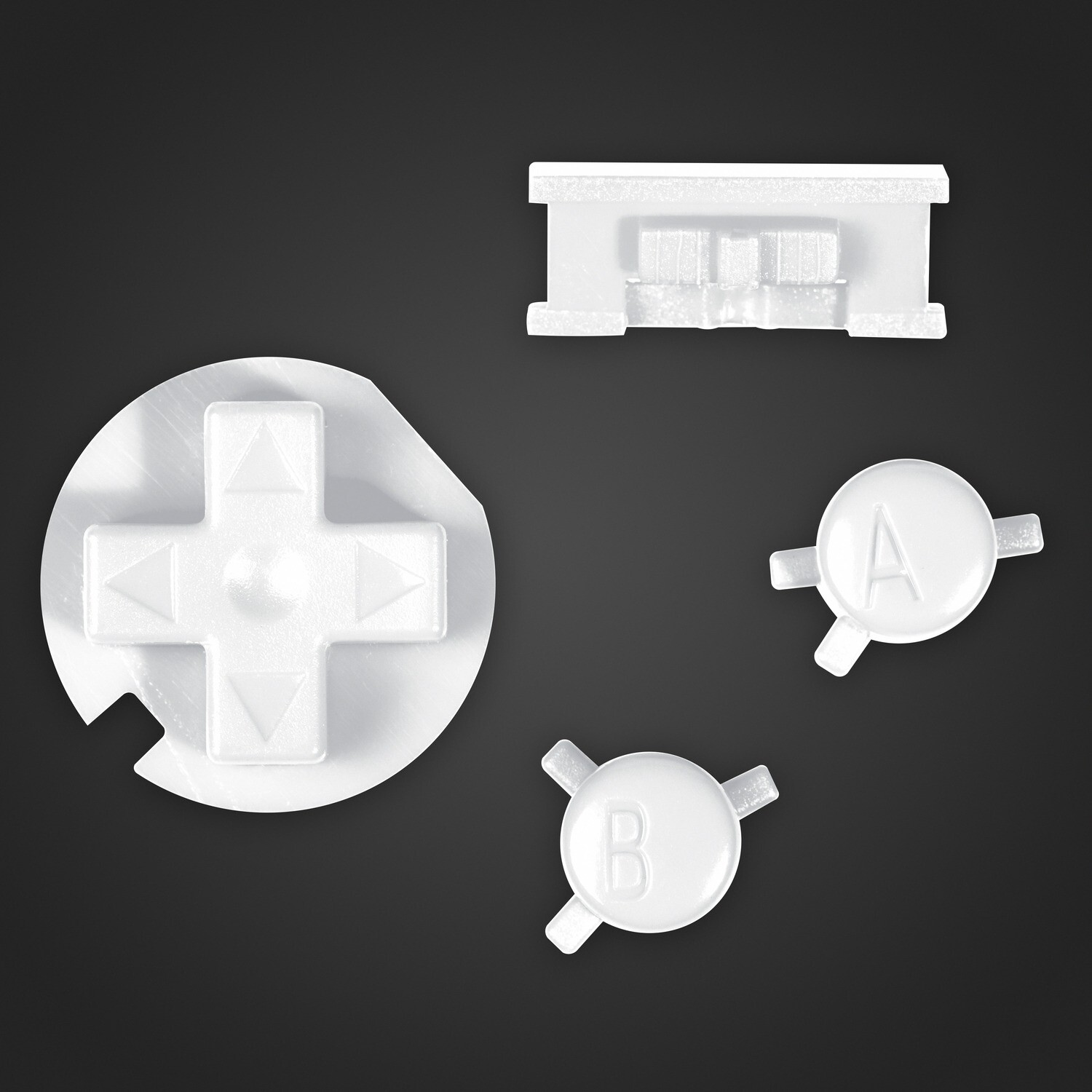 Game Boy Color Buttons (White)