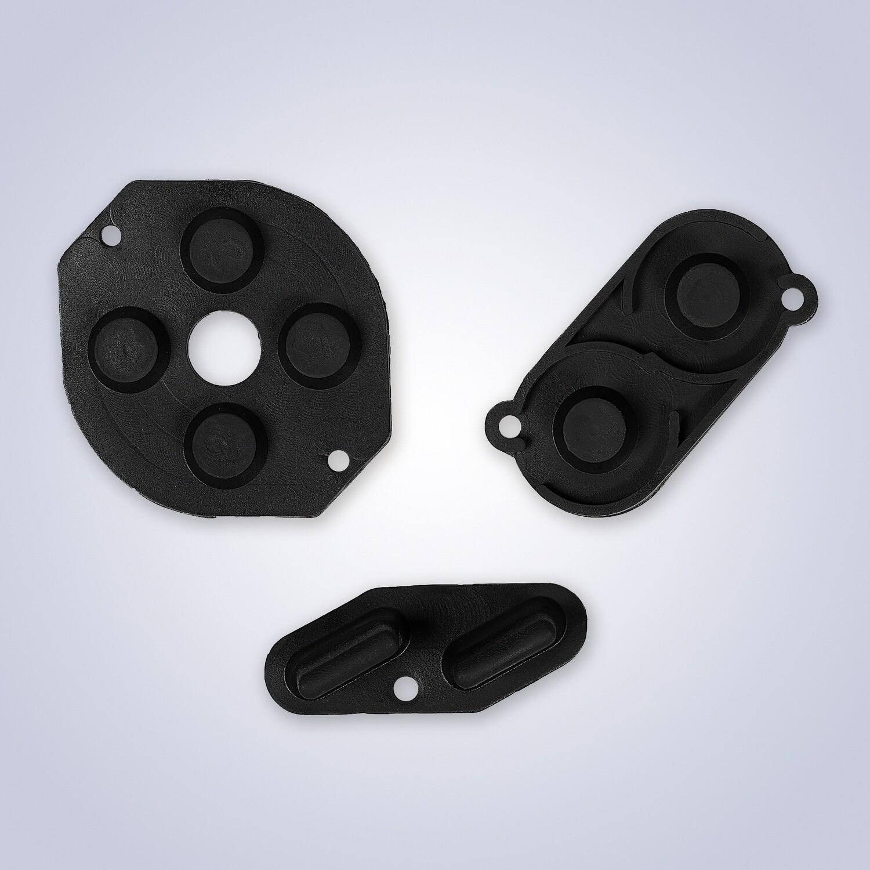 Game Boy Rubber Pads (Black)