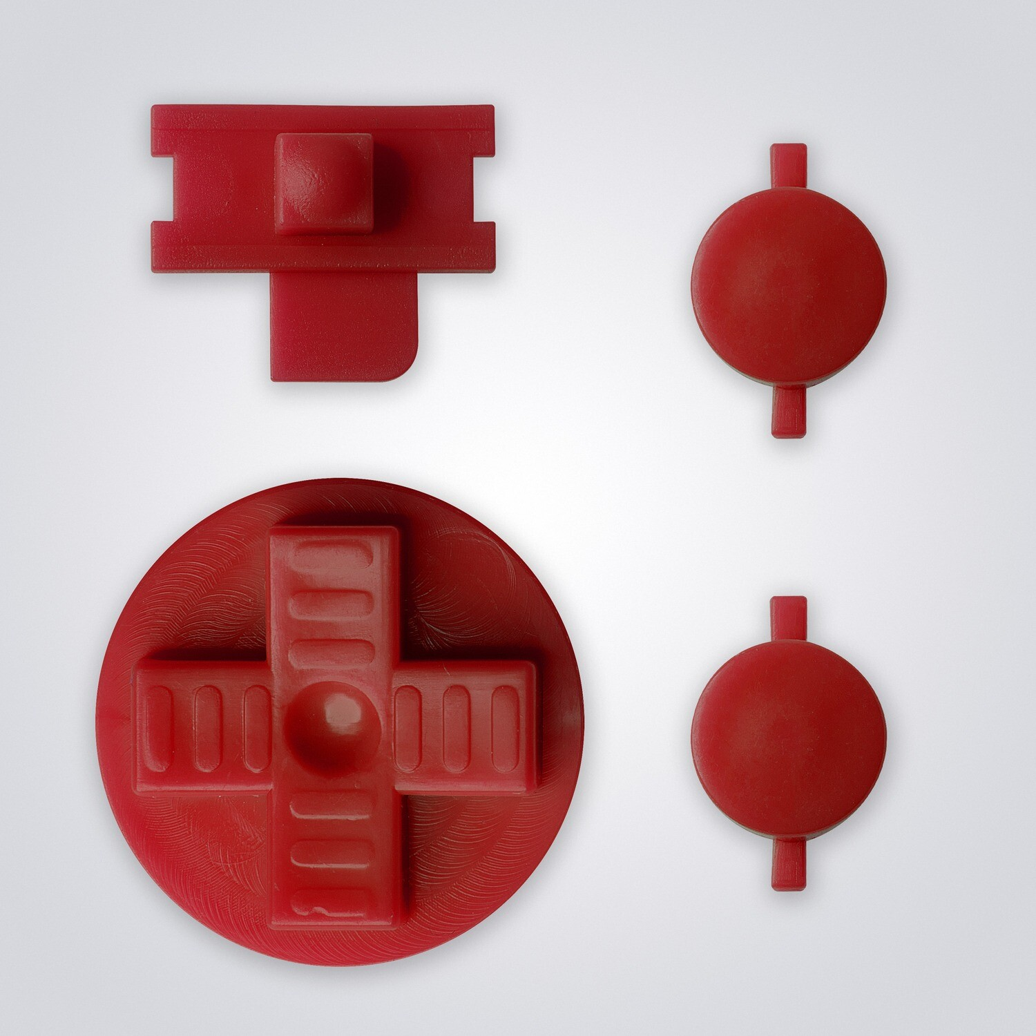 Game Boy Original Buttons (Red)