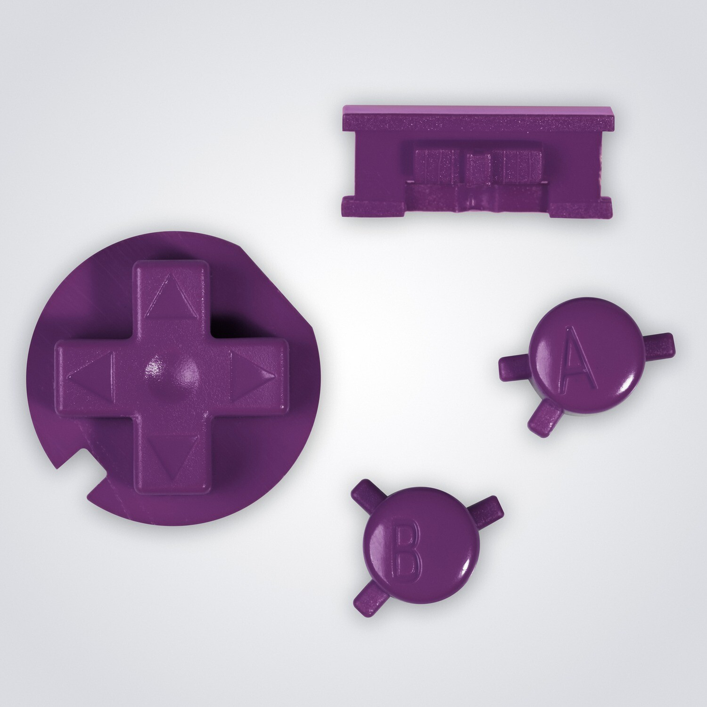 Game Boy Color Buttons (Purple)