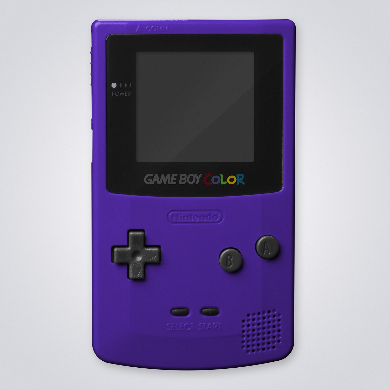 Game Boy Color Shell Kit (Grape Purple)