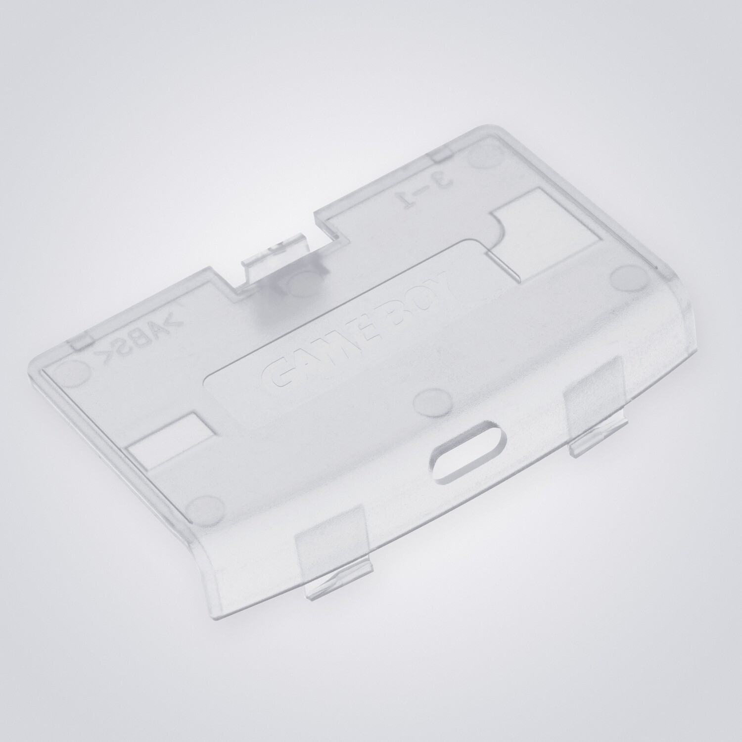 Game Boy Advance USB-C Battery Cover (Clear)