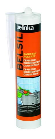 Belinka Belsil Sanitary Acetate (280 мл.) - силиконовый, санитарный, бесцветный