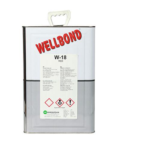 Клей 15 кг DUNLOP W-18 RED /негорючий/