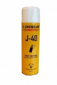 Клей аэрозольный DUNLOP J-40 /500 ml/