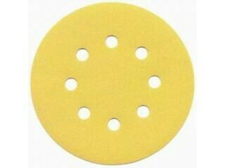 Шлиф. диск GOLD d-125, Р- 100 (8 отв.)