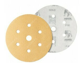 Шлиф. диск GOLD d-150, Р- 120 (6+1 отв.)