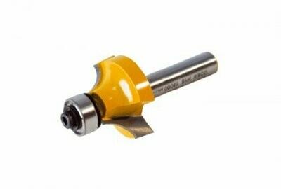 Фреза кромочная калёвочная d 63,5 х 32 мм, r 25,4  хвостовик 12 мм