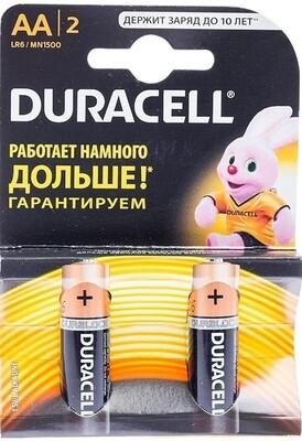 Элемент питания DURACELL Basic AAA BL12 отрывной набор 2 шт.