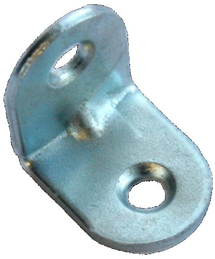 Кронштейн МК 20 х 20 мм - цинк (1000 шт./упак.)
