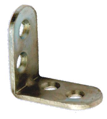 Кронштейн МК 30 х 30 мм - цинк (500 шт./упак.)