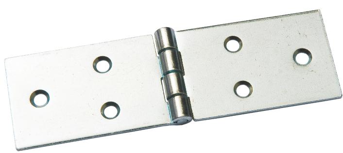 Петля карточная 128 х 40 мм - цинк (100 шт./упак.)
