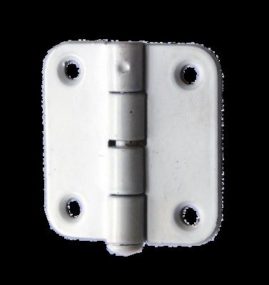 Петля накладная ПН5-40 полимер, белый - 200 шт. упак.
