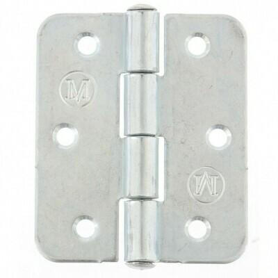 Петля накладная ПН5-60 полимер, белый - 100 шт. упак.