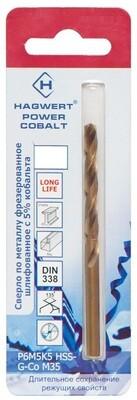 Сверло по металлу 11,0 х 142 мм, Power-Cobalt, P6M5К5 фрез. (1 шт./упак.)