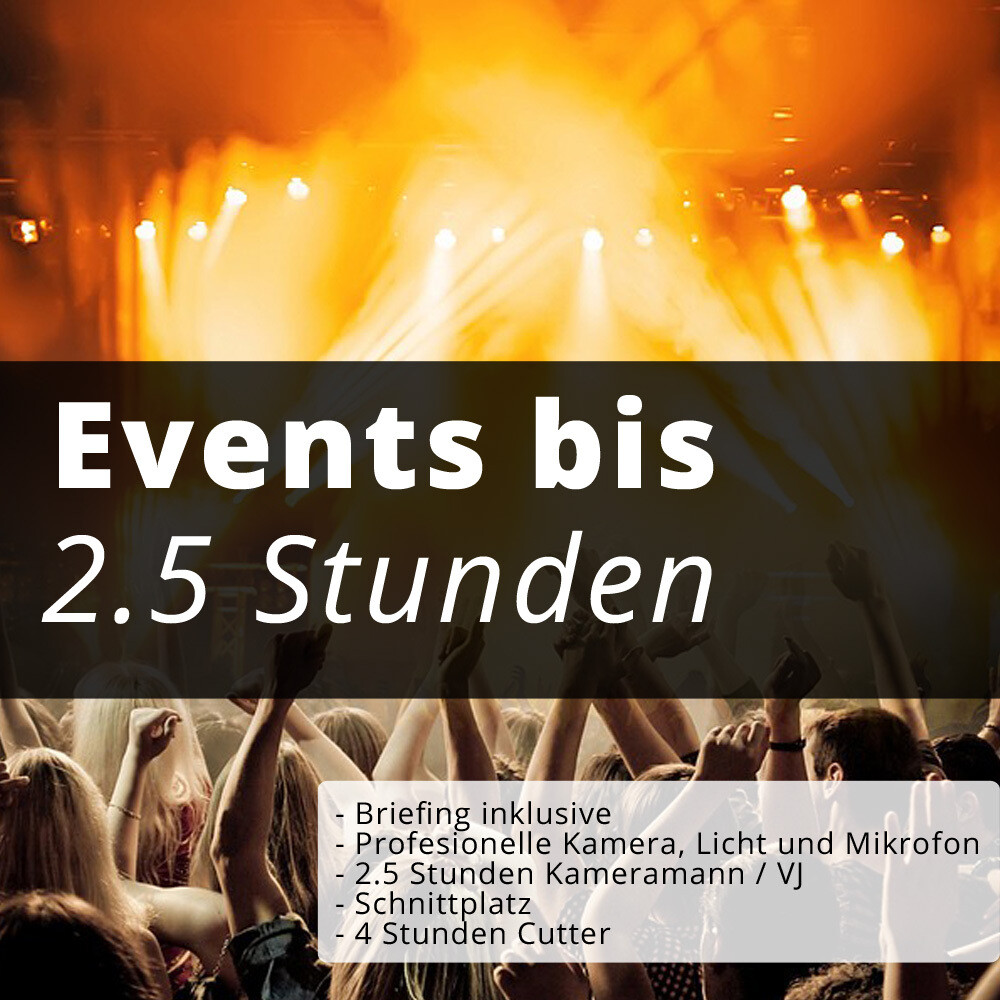 Events bis 2.5H