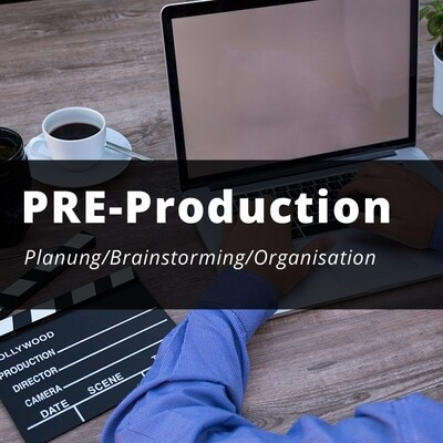 Planung, Brainstorming, Drehbuch, Organisation