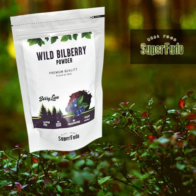 Bilberry  (blueberries) powder (wild) ~90g / ~3.17oz
