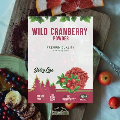 Cranberry powder (wild) ~90g / ~3.17oz