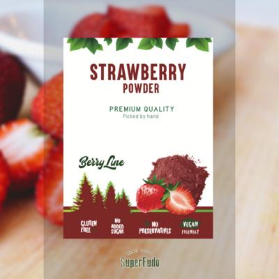 Strawberry powder ~90g / ~3.17oz