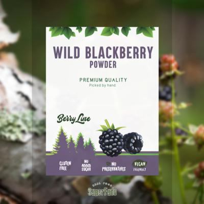 Blackberry powder (wild) ~90g / ~3.17oz