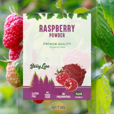 Raspberry powder  ~190g / ~6.07oz