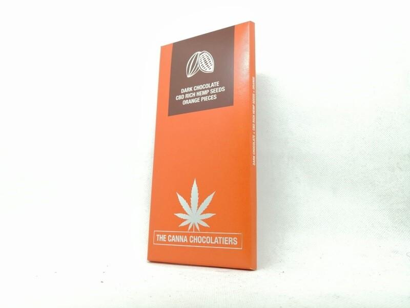 Chocolat orange et cannabis