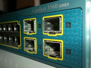 WS-C3560-48TS-S Cisco Catalyst 3560 48 10/100 + 4SFP-Slot