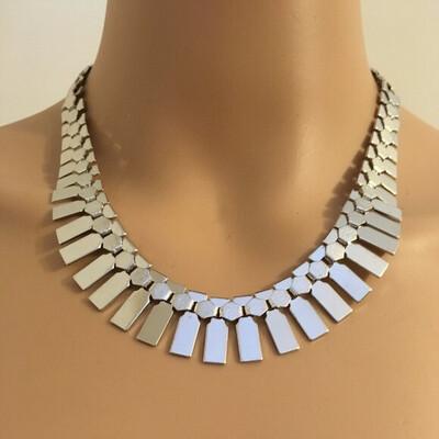 Silver Decorative Necklace