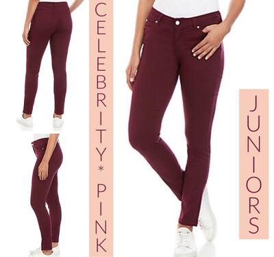 Girl's Purple Celebrity Pink Skinny Jeans