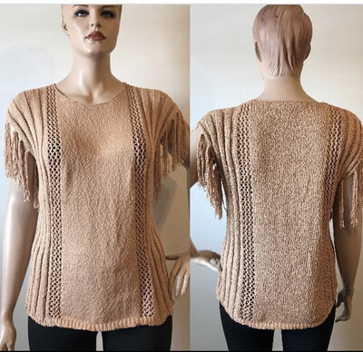 Easel Apricots Light Weight Sweaters