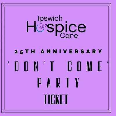 'Don't Come' Party Ticket