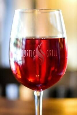 Mystic Grill Wine Glass