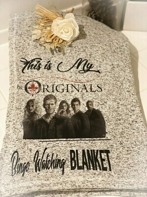 The Originals Blanket