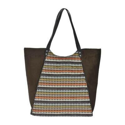 Fhb6 Designer Shopping Bags LE - Brown Multi